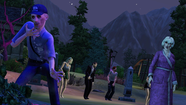 The Sims 3 Overnaturligt zombier