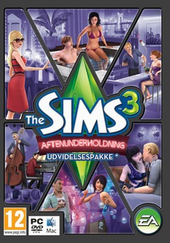 sims 3 aftenunderholdning