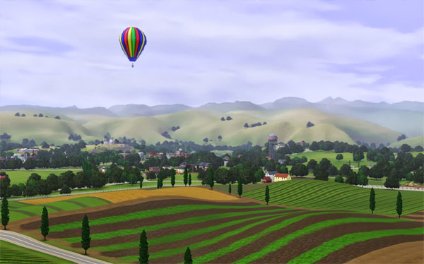 riverview i sims 3