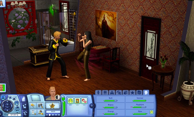 sparringsturne sims 3