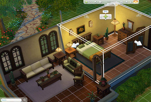 Huse i sims 4 for Quiero construir mi casa