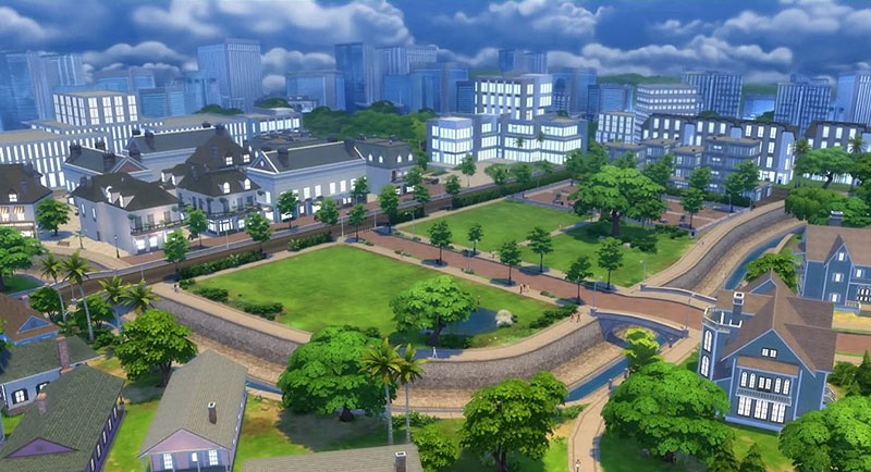 newcrest sims 4 nabolag
