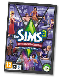 cover på sims 3 aftenunderholdning