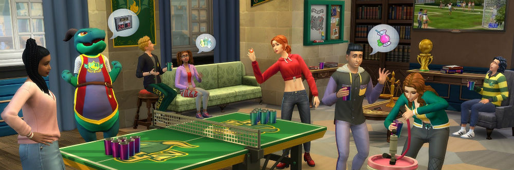 Sims 4 Udforsk Universitetet